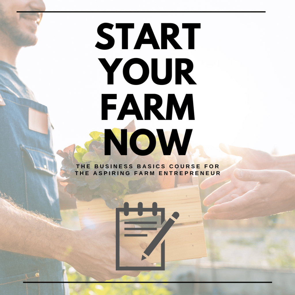Learn to farm online course.